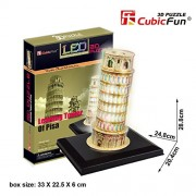 Frank Leaning Tower of Pisa Led 3d Puzzle