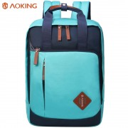 Aoking New Multifunctional Backpack for Teenagers Casual Travel boys girls Student School Bags Simple Notebook Laptop Backpack