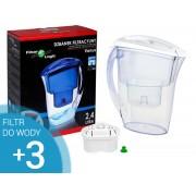 Filter Logic FLJ-402 Biały + 3 wkłady filtrujące