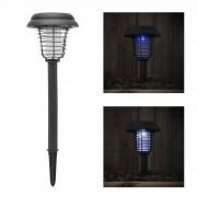 2V1 Solárna lampa s lapačom hmyzu