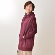 Provador びっくり裏起毛ケーブル袖パーカー【QVC】40代・50代レディースファッション