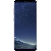 "Telefon Mobil Samsung Galaxy S8 Plus, Procesor Octa-Core 2.3GHz / 1.7GHz, Super AMOLED Capacitive touchscreen 6.2"", 4GB RAM, 64GB Flash, 12MP, 4G, Wi-Fi, Android (Midnight Black)"