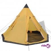 vidaXL Šator za 4 Osobe Žuti