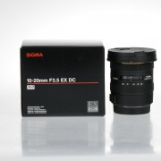 Sigma 10-20mm f/3.5 EX DC HSM Lens for Canon Mount