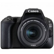 Canon EOS 200D Kit schwarz + EF-S 18-55 IS STM