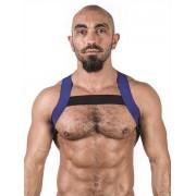 Mister B Urban X Back Club Harness Blue/Black 820564