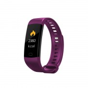 Y5 Unisex Smart Bracelet Fitness Smart Watch Tracker Sport Bluetooth Wristband - Purple