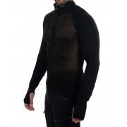 Brynje Arctic Zip Combatshirt - Tröjor - Svart - S