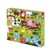 Puzzle sa teksturom - Farma sa životinjama