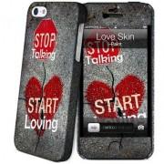 iStuff Hard Case + Skin Love iPhone5