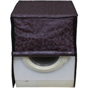 Glassiano Brown Colored Washing Machine Cover For Bosch WAB20267IN Fully Automatic Front Load 6 Kg
