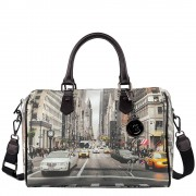Y Not? Borsa Donna Y NOT Bauletto Medio con Tracolla YES-318 NY Street Style