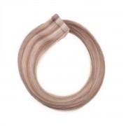 Rapunzel® Extensions Naturali Quick & Easy Original Liscio M7.3/10.8 Cendre Ash Blonde Mix 70 cm