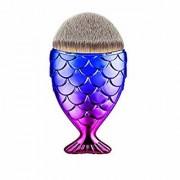 Huda Makeup Brush Powder Blush Foundation Cosmetic Fish Brush