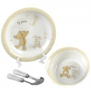 Button Corner Ceramic Dinner Set