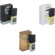Skyedventures Set of 3 Kabra Black-Silent love-The Boss Perfume