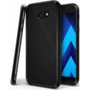 Skin Ringke Samsung Galaxy A5 2017 A520 Fusion Shadow Black + Bonus folie protectie display Ringke