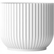 Lyngby Porcelæn Flowerpot, stor (H 18,9 x Ø 18 cm.)
