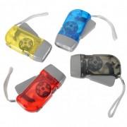 Lanterna cu Dinam si 3 LED-uri