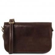 Италианска чанта от естествена кожа Carmen