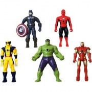 SHRIBOSSJI New Arrival Marvel Super Heroes Collection Premium Quality - Medium Size (Multicolor)