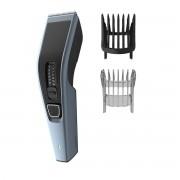 Masina de tuns Philips HC3530/15, Tehnologie Trim-n-Flow, 13 lungimi, Ni-MH, Autonomie 75 minute, Lame inox, 1 pieptene reglabil păr, 1 pieptene reglabil barbă, Negru/Gri