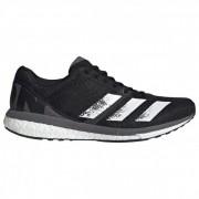 adidas - AdiZero Boston 8 - Chaussures de running taille 11,5, noir/gris