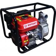 Pompa de apa ROTAKT ROMP3040, capacitate cilindrica: 163 cmc, putere maxima motor: 5.5 CP, capacitate combustibil: 3.6 L
