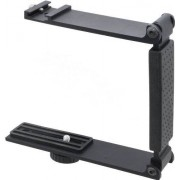 Digital Nc Aluminum Mini Folding Bracket For Sony DCR-SX85 (Accommodates Microphones Or Lights)