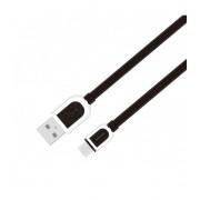 Astrum Micro USB bliszteres adatkábel 1M fekete UD360