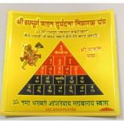 ReBuy Shri Sampoorna Vahan Durghatna Nivarak Yantra Silk Paper Version Energized