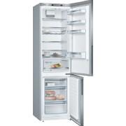 Combina frigorifica Bosch KGE36ALCA, 302 L, Super-racire, Low Frost, Afisaj LED, VitaFresh 0°C, Suport sticle, H 186 cm,Clasa A+++, InoxLook