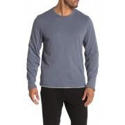 JASON SCOTT Reversible Long Sleeve T-Shirt CADET BLUE