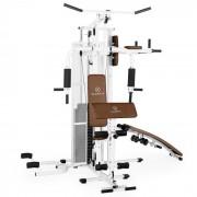 KLARFIT Ultimate Gym 5000 multifunkciós fitnesz állomás, fehér (FIT14-UltimaGym5000W)