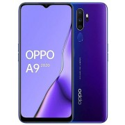 """Telefon Mobil Oppo A9 (2020), Procesor Snapdragon 665 Octa-core 2.0/1.8 GHz, IPS LCD Capacitiv touchscreen 6.5"""", 4GB RAM, 128GB Flash, Camera Quad 48+8+2+2MP, 4G, Wi-Fi, Dual Sim, Android (Violet)"""