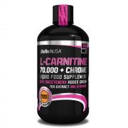 Biotech USA L-carnitine 70000 mg + Chrome Liquid narancs 500ml