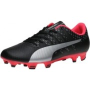 Puma evoPOWER Vigor 4 FG Football Shoes(Black)