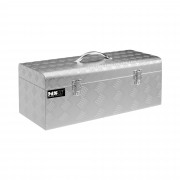 Alubox Riffelblech - 57,5 x 24,5 x 22 cm - 31 L