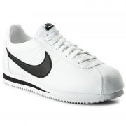 Cipő NIKE - Classic Cortez Leather 749571 100 White/Black