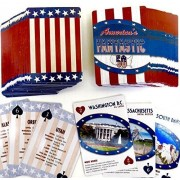 Nifty Fifty States, Souvenir, Playing Cards, Double Deck, Historical Information on Every State