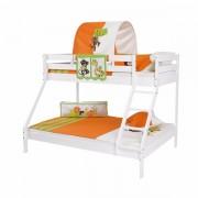 Dečiji krevet na sprat Maxim Beli Africa