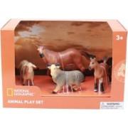 Set 4 figurine National Geographic Animalute de la ferma