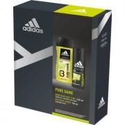 Adidas Pure Game lote de regalo I. gel de ducha 250 ml + desodorante en spray 150 ml