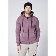 CHIEMSEE Herren Kapuzen-Sweatjacke YELLOWSTONE CLUB, flint S