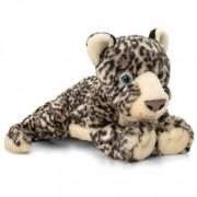 Jucarie de plus Snow Leopard Keel Toys, 46 cm, 1 an+