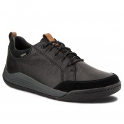 Обувки CLARKS - Ashcombe Bay Gtx GORE-TEX 261354007 Black Leather