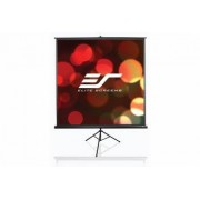 Ecran de proiectie trepied EliteScreens T113UWS1 200x200cm Cadou geanta transport Negru