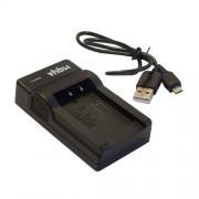 vhbw chargeur Micro USB avec c?ble pour camÈra JVC DR-D818, GC-PX10, GC-PX100, GC-PX100BEU, GC-PX10EU, GR-D720, GR-D720EX, GR-D725, GR-D740