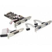 PCI Express-kártya > 4 x Soros, 1 x Párhuza