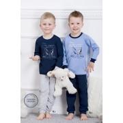 Fiú pizsama 859 blue